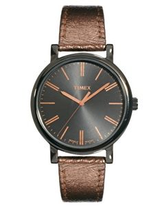 Enlarge Timex Original Analogue Leather Watch