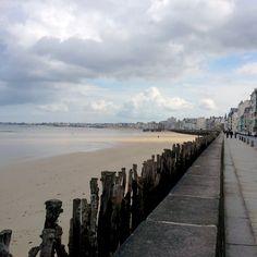 Week-end sur la Manche - Vue de la promenade de Saint-Malo