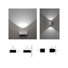 Lely LED Wall Sconce - Luxury Modern Lighting and Contemporary L&s  sc 1 st  Pinterest & Luxury Euro Lighting the most innovative designer of modern lights ...