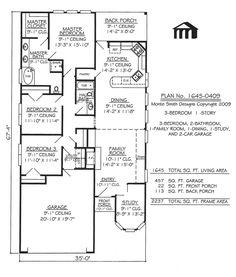 narrow lot apartments 3 bedroom | Story, 3 Bedroom, 2 Bathroom, 1 Dining room, 1 Family Room, 1 Study ...