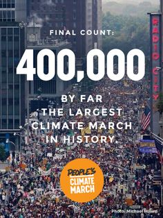 Wondering whether the People's Climate March made waves? Here's the People's Climate March on the front page of some of the most visited websites on the internet, including major media outlets:  BONUS: Here's the march on the Times Square newsticker – thanks to @efeghali for the pic!  And then this morning we woke