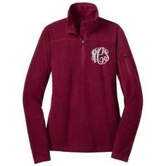 Monogrammed Eddie Bauer Quarter Zip Grid Fleece Pullover ❤ liked on Polyvore featuring tops, sweaters, pullover, sweater fleece pullover, 1 4 zip sweater, 1 4 zip pullover, fleece quarter zip pullover and fleece pullover