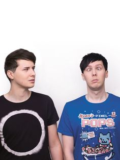 Dan and Phil they are so cute
