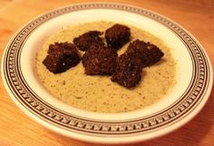 Roasted Broccoli & Irish Cheddar Soup...mmm