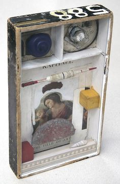assemblage | Art Collages: Field of Art, Assemblage Box