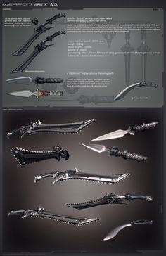 Mythic Weapons (Sci-Fi Style)