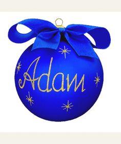 #Bombka z imieniem lub z twoją dedykacją. Super pomysł na #świąteczny pomysł.