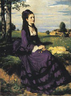 Szinyei Merse, Pál - Lady in Violet - Google Art Project - Szinyei Merse Pál – Wikipédia