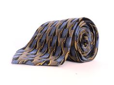 SALE Vintage Necktie 1980' Designed Tie By by FashionAndScarves