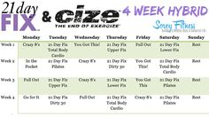 Get ready to tone your whole body through hip hop dancing and strength workouts with Autumn Calabrese!We mixed 2 of our favorite workouts to create the 4 Week 21 Day Fix Cize Hybrid Workout! Cize …