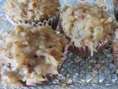 German Chocolate Cake Frosting From: Patricia's Patchwork, please visit Cake Filling Recipes, Frosting Recipes, Cake Recipes, Dessert Recipes, Icing Recipe, Dessert Ideas, Homemade Chocolate, Chocolate Recipes, German Chocolate Cake Frosting