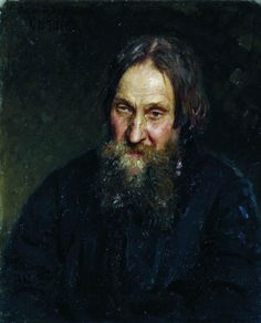 Portrait of Efim Repin, the Artist's Father - Ilya Repin - WikiPaintings.org