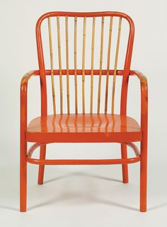 Josef Frank armchair (known for rounded furniture and floral textiles). Mentioned by Jonathan Ive and Jobs wife love this guy Art Deco Furniture, Modern Furniture, Home Furniture, Furniture Design, Furniture Ideas, Josef Frank, Home Interior, Interior Design, Apartment Furniture