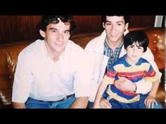Ayrton with fans