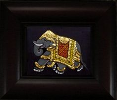 MEA 006 Elephant - 8x8in