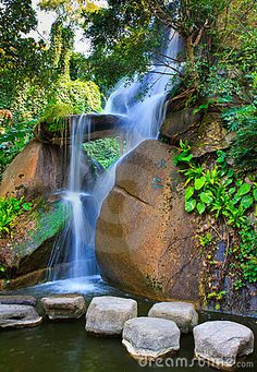 Silky Waterfall, Xiamen China