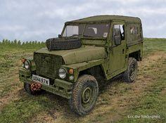 Lightweight Land Rover at Newark