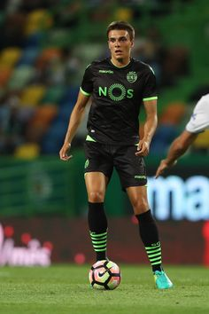 Sporting's midfielder Joao Palhinha during the Friendly match between Sporting CP and Lyon at Estadio Jose Alvalade on July 23, 2016 in Lisbon, Portugal.