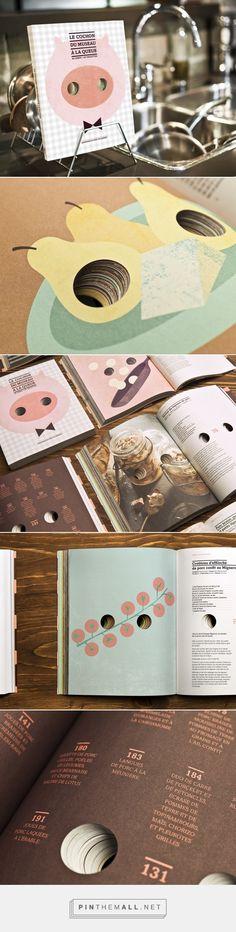 Éleveurs de porcs du Québec |Recipe book on Behance - created via http://pinthemall.net