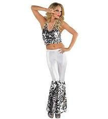 Shop for disco costumes and disco outfits like sequin suits and Saturday Nights Fever clothes.  sc 1 st  Pinterest & Sparkle Diva Disco Costume | DIY | Pinterest | Disco costume Discos ...