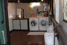 About Laundry Room On Pinterest Basement Laundry Rooms Unfinished