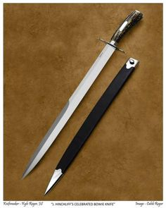 """J. Hinchliff's Celebrated Bowie Knife"" by Kyle Royer M.S."