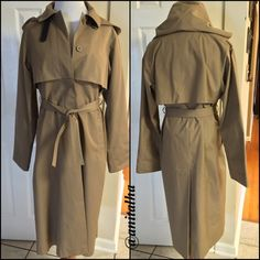 Jack Set Lined Hooded Trench Coat Trench coat with removable lining, & hood. The lining is warm & made of 45% cotton, 22% viscose, 15% polyester, 15% wool. One flaw (on lining sleeve) in 3rd pic, right side. Is repairable & does not compromise the garment. True to size. EUC  Posh Rules Bundle Discounts  No Trades   No Pay Pal  Smoke Free Home  Unless otherwise noted my clothing is gently used! Jack Set Jackets & Coats Trench Coats