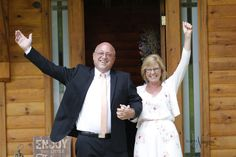 WOO HOO!  We did it at The little Log Wedding Chapel in Niagara. Perfect for an elopement wedding