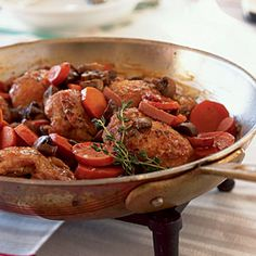 Coq au Vin - so many people are intimidated about trying French recipes, but many classic French recipes produce simple, hearty, flavorful dishes.  Coq au Vin is one of my favs.
