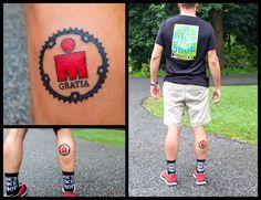 Ironman Lake Placid Tattoo Reward