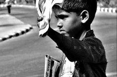 Newsboy Selling Newspaper #NOCHILDLABOR
