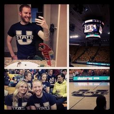 Aggie for a day. #Aggie #usu #basketball #tbt #throwbackthursday #college #collegelife #fun #visit