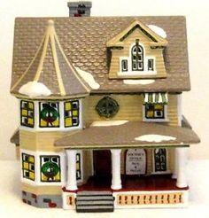 Doctor's House Dept 56 Snow Village 51438 Retired | eBay