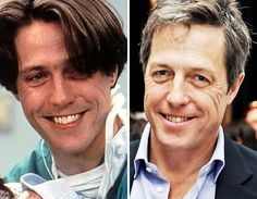 Men of the --Hugh Grant Celebrities Then And Now, Young Celebrities, Celebs, Hugh Grant, Celebrity Photography, Stars Then And Now, Cinema, British Actors, Celebrity Pictures