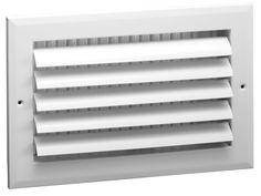 8' x 6' - 1-Way Air Vent - Adjustable Aluminum Curved Blades - Maximum Air Flow - HVAC Grille -- See this great product.