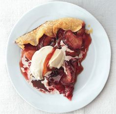 Sophisticated fruit desserts don't have to be a hassle.