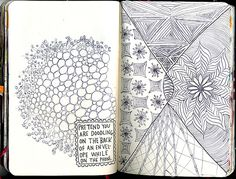 Wreck This Journal - Pretend You Are Doodling ..., via Flickr.
