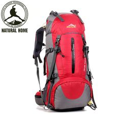 50L Large Capacity Outdoor Backpack Camping Travel Bag Professional Hiking Backpack  Rucksacks Sports Bag