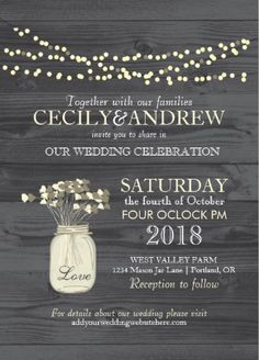 Vintage rustic #save_the_date wedding invitations. Elegant and classy.