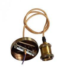 Item Type: Pendant LightsModel Number: Copper Pendant lampLampshade Color: Gold,GrayCertification: CE,RoHS,CCCTechnics: PaintedWarranty: 2 YearsBody Material: A Art Nouveau, Art Deco, Lamp Socket, Lamp Light, Bronze, Retro, Pendant, Products, Hang Tags