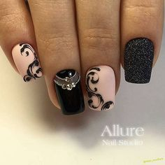 Gorgeous Nail Designs For Special Events Fabulous Nails, Perfect Nails, Gorgeous Nails, Love Nails, Fun Nails, Pretty Nails, Shellac Nails, Matte Nails, Manicure