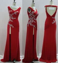 Get the Red Pageant Evening Gowns with best price from Darius Cordell Fashion. Designer Evening Dresses, Evening Gowns, Pageant Dresses, Formal Dresses, Couture Dresses, How To Wear, Fashion Design, Collection, Thigh