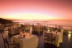 Azure Restaurant in Cape Town, South Africa