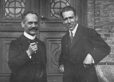 Arnold Sommerfeld & Niels Bohr