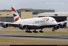 Seconds from touchdown on 27R.. G-XLEK. Airbus A380-841. JetPhotos.com is the biggest database of aviation photographs with over 3 million screened photos online!