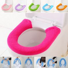 Warmer Toilet Seat Cover For Bathroom Products Pedestal Pan Cushion Pads Lycra Use In O