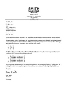 how to write a successful cover letter - Cover Letter Examples For Business