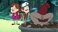The look on Dipper's face PRICELESS!!!!