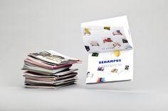 Schampus Magazine #66  Spread (Mini-Poster), by Bergmann Studios, 2010