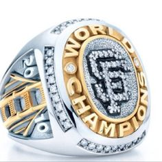 2010 World series championship ring made by none other than Tiffany